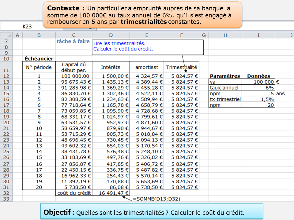 Calcul Actuariel Et Applications Aux Produits Financiers Exercice