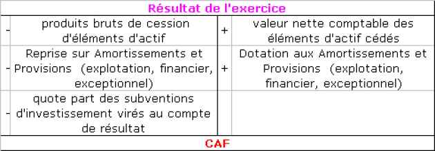 Analyse Financiere Capacite D Autofinancement De L Exercice