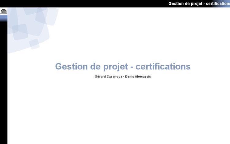 Accédez à la ressource pédagogique Gestion de projet : Certifications