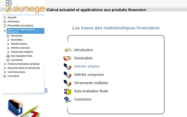 Accédez à la ressource pédagogique Calcul actuariel et applications aux produits financiers : Les bases des mathématiques financières