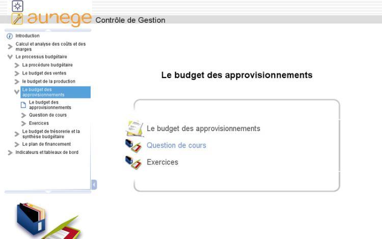 Accédez à la ressource pédagogique Contrôle de gestion : Le budget des approvisionnements