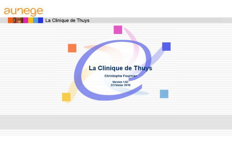 Accédez à la ressource pédagogique La Clinique de Thuys