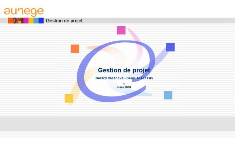 Accédez à la ressource pédagogique Gestion de projet