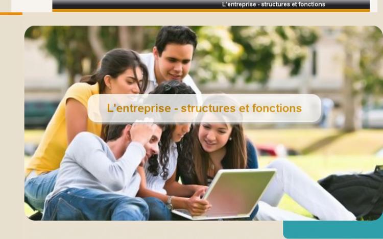 Accédez à la ressource pédagogique L'entreprise - structures et fonctions