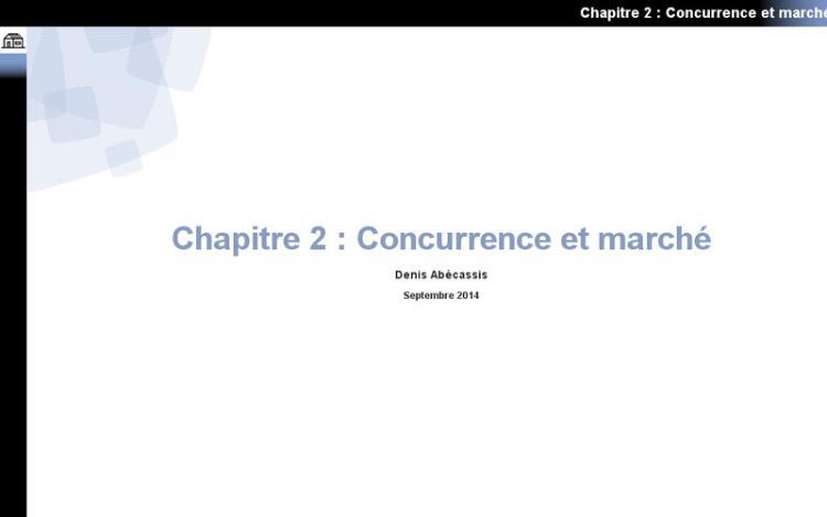 Accédez à la ressource pédagogique Introduction à la gestion des PME : Concurrence et marché