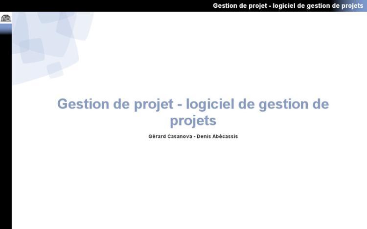 Accédez à la ressource pédagogique Gestion de projet : Logiciel de gestion de projets
